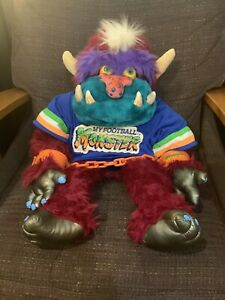 My Football Monster with Jersey and Handcuffs 1986