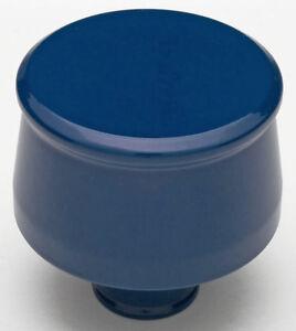 Trans-Dapt 8322 Push In Style Aluminium Breather Cap Ford Blue Powder Coated