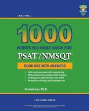 Columbia 1000 Words You Must Know for Psat/Nmsqt : Book One with Answers by...