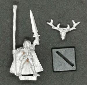 Wood Elves Standard Bearer Marauder Metal OOP 1993 Warhammer Fantasy