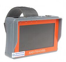 """Portable 1080P 4.3"""" LCD AHD TVI CVBS Analog CCTV Camera Monitor Tester 12V"""