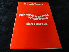 More details for signed programme for 'the bed before yesterday' with 1976 helen mirren autograph