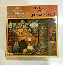 THE Art of Dean Morrissey -Still Life w/Bowling Pin Jigsaw Puzzle 750pc COMPLETE