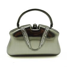 Crystal Bejeweled Evening HandBag Purse shoulder Clutch Portable