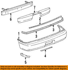 TOYOTA OEM 91-95 MR2 Rear Bumper-Reinforcement 5202317030