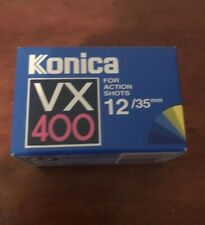 Konica VX400 Super color ISO 400 35 mm 135-12 negative print film NOS