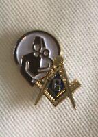 Masonic Shriner Blue Lodge Lapel Pin Rare