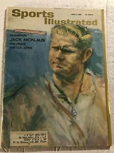 1963 Sports Illustrated THE US OPEN Prev BROOKLINE COUNTRY by JACK NICKLAUS Bear