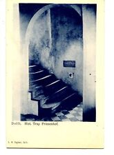 History Museum-Stairs-Trap Prinsenhof-Delft-Holland-Netherlands-Vintage Postcard