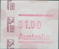 Australia frama 1988 $1 Aeropex 88 MNH
