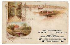 Arnhem in den Niederlanden - Litho - gelaufen 1920 #175
