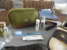 GARUDA INDONESIA Business Class L' OCCITANE Amenity Kit Bag Trousse Kulturbeutel