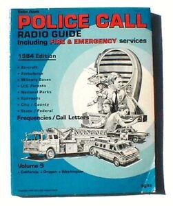 Vintage Radio Shack Police Call Radio Guide, 1984 Edition
