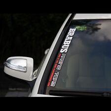 BENZ AMG Racing sport Car Sticker window windowshield Decal BRABUS 57*5.3cm