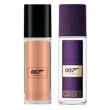 James Bond 007 Deodorant Spray for Women 75ml - choose your fragrance