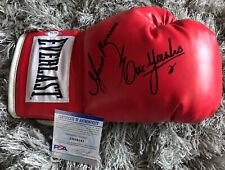Erik Morales & Marco Antonio Barrera Signed Everlast Boxing Glove PSA/DNA COA