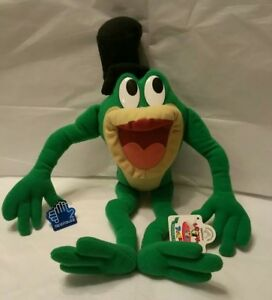 "12"" Plush Applause Michigan J Frog Looney Tunes Character Stuffed Toy w/tags"