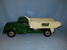 Vintage Buddy L Deluxe Hydraulic Heavy Hauling Dumper, Dump Truck,  1950's