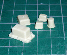 Relays & fuse box for 1/8 scale Revell Monogram E Type Jaguar kit or other cars
