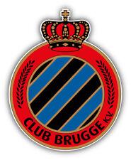 Club Brugge K.V. Belgium Soccer Football Car Bumper Sticker Decal 4'' x 5''