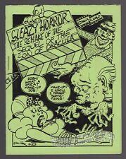 SLEAZY HORROR #5 underground comix BRAD W FOSTER Vojtko MILLER mini-comic 1983