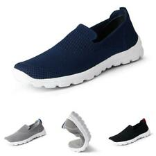 Mens Outdoor Running Sports Mesh Breathable Soft Casual Leisure Sneakers Shoes B