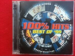 The Best of 1999 '99 100% Hits double 2 x cd compilation various artists  used