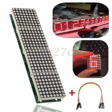 MAX7219 Dot Matrix LED 4 in1 Display Micro Control Module 5Pin Cable for Arduino