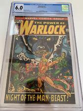 CGC 6.0 WARLOCK #1 MARVEL COMICS 8/72