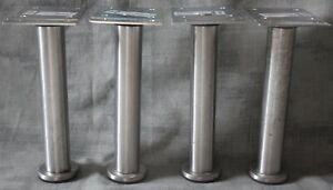 Kitchen Unit metal legs for Ikea Faktum Range Set of 4 Legs (#2)