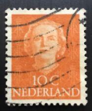 Netherlands stamps - Queen Juliana (1909-2004)   10 Dutch cent 1949