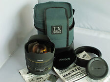 Sigma EX HSM Aspherical 14 mm f/2.8 ASP EX Lens For Canon EOS Camera Mint