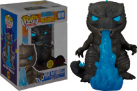 Heat Ray Godzilla GLOW GITD Funko Pop Vinyl New in Mint Box + Protector