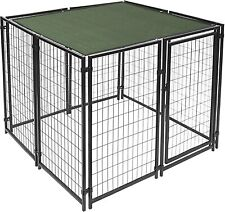 New listing 5X15 Ft Pet Dog Kennel Sun Shade Cover Weather Protection with Aluminum Grommets