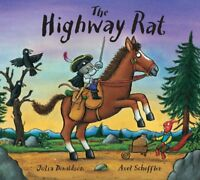 The Highway Rat by Julia Donaldson New Paperback Book NEW FREE P&P