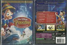 RARE / WALT DISNEY : PINOCCHIO / EDITION 2 DVD NEUF EMBALLE - NEW & SEALED