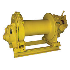 Ingersoll Rand K4Ul 4000 Lb Air Tugger Wide Drum Winch Rigging