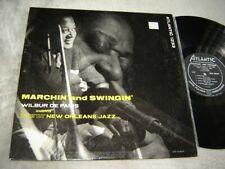 Wilbur de Paris - Marchin and Swingin LP Atlantic 1233 orig New Orleans Jazz