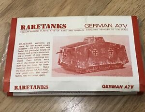 1//32 WWI German A7V Tank ready assembled not a kit 3 at bargain price!