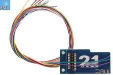 ESU 51968 21MTC-Adapterplatine 2, 6090x Bauform mit AUX3 und AUX4 - NEU + OVP