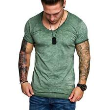 Fashion Men's Slim O Neck Long Sleeve Muscle Tee T-shirt Casual Fit Blouse Tops