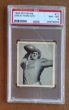 1948 Bowman #71 Leslie Horvath Rookie PSA 8
