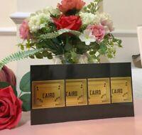 Penhaligons CAIRO Eau De Parfum EDP 4 x 1.5ml perfume samples 🌺 🧡BRAND NEW