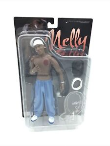 """2003 Rapper NELLY 9"""" Action Figure Stronghold Group with Accessories NEW"""