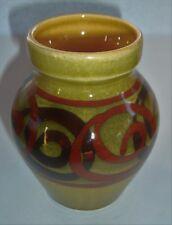 """Vintage Brixham Pottery, Devon ~ 3.5"""" vase"""