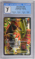 Pokemon CGC 7 Groudon EX 150/160 Primal Clash PSA 7