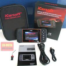 OBD2 iCarsoft i908-2 CAN UDS Diagnosegerät für VW Audi Seat Skoda Service Reset+