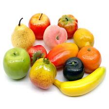 Früchte Mix, 12 Stück Sortiment künstlich, Deko Obst/ NICE PRICE ***