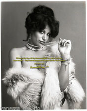 Vanessa del Rio ADULT Film Star in Fur Photo 1975 VERY RARE! Sign  AFT BUY w/COA