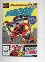 DAREDEVIL #4 Annual ( #5 ) , VF+ Spider-man Dr Strange, 1989, Marvel